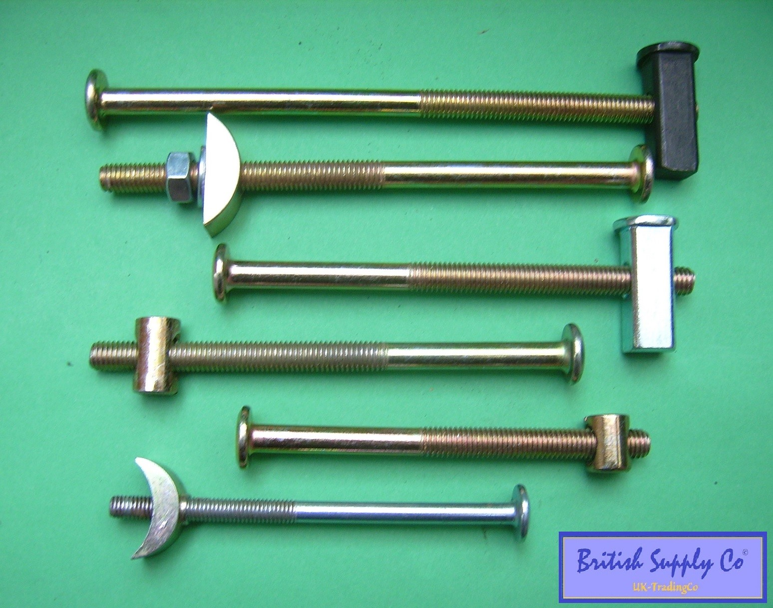 Bed Bolts Heavy Duty M6 Amp M8 Replacement Fixing Half